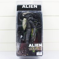 "Wholesale Alien Movie Figure - NECA Figure Official 1979 Movie Classic Original Alien Action Figure Toy Doll 7"" 18cm Free shipping"