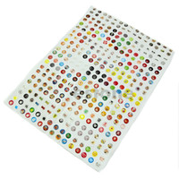 Wholesale Ipad Full Body Sticker - Free Shipping 330PCS Mixed Home Button Sticker Protector for iPhone iPad 1  2 iTouch order<$18no track