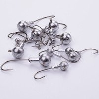 Wholesale 2g lures online - PSC g g g g g Lead Head Hook Jigs Bait Fishing Hooks for Soft Lure Fishing Tackle