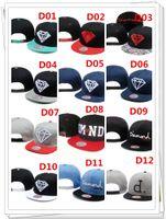 Wholesale diamond backs hats online - Newest diamond Hats Snapback Hats Caps Men Snapbacks Adjustable Diamond supply co Snap back cap Top Quality