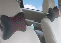 Wholesale Car Neck Pillows Leather Wholesale - Occipital bone wine for installation 20pcs a bag. Car headrest, car Pillow, Pillow bags 31-1A \ 645 pillow   pillow comfort