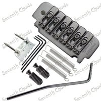 Wholesale Base Guitars - A Set 6 string Saddle Tremolo Bridge System for Electric Guitar With Heavy Thickened Base