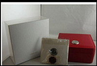 Wholesale English Suppliers - Factory Supplier FREE SHIPPING 2016 Luxury WATCH BOX New Square Red box For Watches Booklet Card Tags And Papers In English
