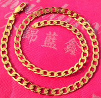Wholesale buys jewelry - best buy fine yellow gold jewelry Thick Italian Curb Chain Men s K Yellow Gold GF Necklace MM Width in