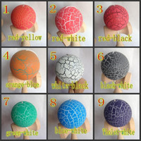 Wholesale Kendama Strings - 19CM strings crack ball Kendama Ball Japanese Traditional Wood Game Toy Education Gifts Hot Sale