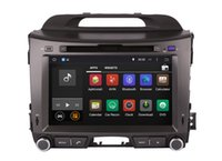 Android 4.4 Head Unit DVD navigatore GPS per Kia Sportage 2010-2013 con radio BT USB MP3 WIFI Audio Video Stereo