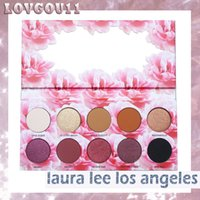 Wholesale Easy Come - New Makeup Eye shadow Laura Lee Los Angeles 10colors Cat's Pajamas Coming soon Eyeshadow Palette Pigment Shimmer Eyes DHL shipping 660207-1