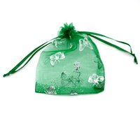 Wholesale Organza 7x9 - Free Shipping 100pcs 7x9 cm Mix Color Nice Chinese Voile Christmas   Wedding Gift Bag Organza Bags Jewelry Gift Pouch