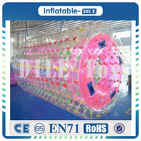 Wholesale Water Ball Rollers - Free shipping 100%TPU inflatable water walking ball  water paly equipment water roller ball aqua rolling ball zorb ball