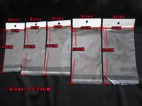açık galaksi s4 vaka toptan satış-Poli Plastik Perakende çanta Ambalaj Paketi şeffaf şeffaf Iphone 6 6 S Artı Samsung galaxy S7 Not 3 4 5 S4 S6 Letaher Yumuşak hard case