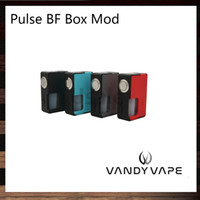 Wholesale Food Boxes - Vandy Vape Pulse BF Box Mod Unregulated Squonk Mod With 8ml Food Grade Silicone Bottle Locking Power Safety Switch 100% Original