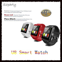 Bluetooth Smart Watch U8 Sport Wrist Watch Anti-lost para IOS IPhone 6/7/8 s Plus Android Samsung S8 / Nota HTC Mobile Phone-01