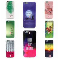 Wholesale Anchor Iphone Cases - Dreamcatcher Soft TPU Silicone Case For Iphone 6 6S 4.7 Plus 5.5 Feather Sun Bear Heart Elephant Boat Anchor Wave Love Dream Ring Cover Skin