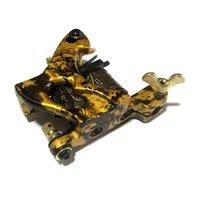 "Wholesale Hand Tattoo Gun - Wholesale- Pro Tattoo Machine Hand Assembled Shader Gun 10-Wrap Coils ""PI Squared"""