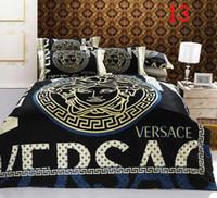 Wholesale 72 Models - Classic burst models 4 pcs bedding set queen full size bedclothes sets sheet quilt cover duvet cover Pillowcase Home Textiles
