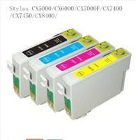 epson için uyumlu mürekkep kartuşu toptan satış-89/71 T0711-T0714 T0715 EPSON Stylus SX215 için uyumlu mürekkep kartuşu / SX218 / SX400 / SX405 / SX405