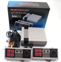Wholesale Wholesale Nintendo Games - 2017 TV Handheld Game Console Mini Video Game Player Console For Nintendo NES Windows PC Mac with 500 620 Built-in Games With Box