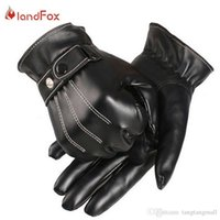 Wholesale Wholesale Leather Opera Gloves - Motorcycle Gloves Real Solid Adult Free Shipping 2015 Hot Sale 1pair Men Luxurious Pu Leather Winter Super Driving Warm Gloves A5