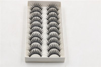 Wholesale taiwan false eyelashes wholesale - False Eyelashes Taiwan Handmade Long Glamour Thick Curl Eyelashes Fake Eye Lash False Eyelash extensions Flair Short Black Eyes Makeup G-20