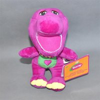 "Wholesale Barney Christmas - Free Shipping New Cute Q Barney Child's Best Friend Action Figure Plush Doll StuffedToy 9"" New"