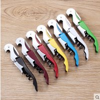 Wholesale Cheap Corkscrews Wholesale - DHL 100pcs Cheap Price Stainless Steel Bottle Opener Sea horse Wine Corkscrew Opener Wine Corkscrew Tool Multifunction In Stock