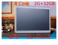 Wholesale china octa core tablets online - 10 inch tablet MTK8382 chip core processors IPS screen G RAM GB ROM storage G Phone dual SIM card call GB memory card