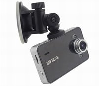 Wholesale Tft Car Video - 2015 Hot Selling K6000 car dvr camera HD 720P 30FPS 2.4 TFT LCD Vehicle Video Recorder Dash Cam car black