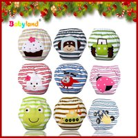 Wholesale Training Pants For Boys - Wholesale-(5 Pieces lot ) 100% Cotton Patterns Potty Trainers Training Pants For Baby Christmas Gift
