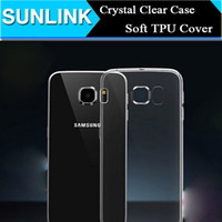 Wholesale Clear Galaxy S4 Case - Crystal Clear Transparent TPU Soft Case Cover for Samsung Galaxy Note 3 4 5 Edge S4 S5 S6 Edge S6Edge J1 iPhone 5 5S se 6 Plus