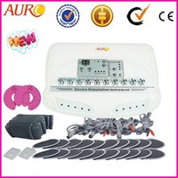Wholesale Ems Stimulator - Professional electrical muscle stimulator EMS slimming beauyt equipment machine with CE approval Au-6804
