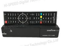 Wholesale Linux Satellite Receivers Wholesale - 20pcs ZGEMMA H.2H with bcm7362 & micro sd card slot Dual Core DVB-S2 + DVB-T2 C Hybrid tuner Combo Satellite Receiver Enigma2 Linux HD