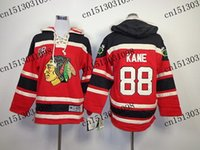 Wholesale Cheap Sports Hoodies - Factory Outlet, Chicago Blackhawks Hoodie Youth #88 Patrick Kane Kids Ice Hockey Sport Jersey Red,S M,L XL,Stitched,Cheap Wholesale