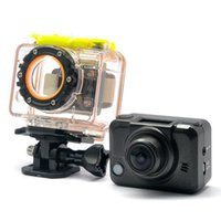 Wholesale Underwater Camera Phone - Ambarella G8800 1080P Full HD waterproof Camera 3 DVR 5M pixel with mobile phone WIFI control 60M underwater resistancy MINI camcorder