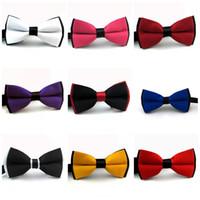 Wholesale men ties bowtie for sale - Fashion Men Bowtie Wedding Gentlemen Business Bow Tie Suit Accessories New For Multi Color mc C R