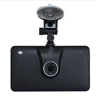 Wholesale The new quot GPS navigation Android FHD P Car DVR Camera Recorder Car GPS MT8127 quad core Map of Core Navitel or Europe