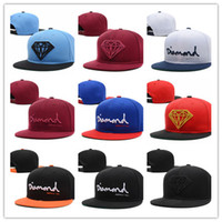 Wholesale Diamond Supply Hats Wholesale - Wholesale-new 2015 bone snapback Diamond cap men hip hop snap back hats baseball cap gorro diamond supply gorras swag sun hat Freeshipping