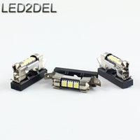 Wholesale Holder Lamps - Festoon Dome reading Light interior lamps Socekt 31mm 36mm Festoon LED Bulbs Universal Holders Base For Under seats Under hood etc