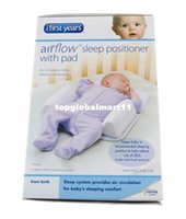 Wholesale Vented Sleep Positioner - Newborn Pillow Positioner The 1st Years Baby Sleep Anti-roll Head Support Toddler Ultimate Vent Fixed System Travel Friends free shipping