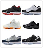 Chaussures de basket-ball en gros Rétro 11 Xi Low Bred Low Georgetown Sports Chaussures en cuir Men s Basketball Chaussures en ligne Retro Sneakers Outdoors