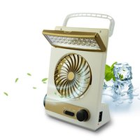 Wholesale Fan For Camping - Solar 3 in 1 Multi-function Solar Fan Portable Rechargeable Mini Fan with 30leds LED Table Lamp Flashlight Solar Light for Home Camping