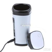 Wholesale Tea Cups Warmers - Ziyu-Novelty Battery Charging Rechargeable USB Powered Drinkware Coffee Mixing Tea Cup Mug Warmer