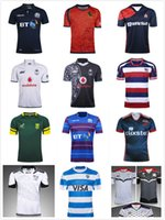Wholesale National Africa - 2017-2018 National Team rugby jersey Malaysia Spanish Japan Fiji rugby shirts scotland South Africa Spain Palestine jerseys Size S-3XL