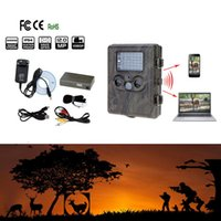 Caméra de chasse rechargeable numérique HD infrarouge Scouting Trail Caméra MMS / EMAIL / SMTP / SMS LED IR Video Recorder 12MP Rain-Proof
