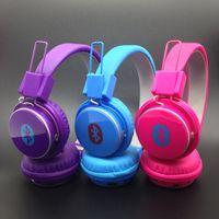 Wholesale Stereo Earphone Case - Retractable Headphones Hot Selling Headband Headphone Case Wireless Bluetooth Headphones Noise Earphone Earbuds Stereo Quality Earphones