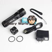 Wholesale Olight Tactical Flashlight - Waterproof Olight R40 Seeker CREE XM-L2 CW LED 3Mode 1100 Lumens 26650 Flashlight Set Outdoor Tactical Flashlight Black Freeship order<$18no