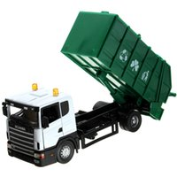 Wholesale Wholesale Garbage Trucks - Junki 1:43 Clean the car Garbage truck Alloy model car toys Presents for the children