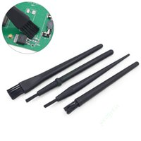 Wholesale Anti Static Cleaning Brush - 4pcs set Anti-static Brush ESD BGA Rework PC PCB Motherboards Dust Cleaning Tool