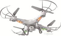 actualizar x5c camara al por mayor-RC Helicopter Quadcopter SYMA X5C-1 (Nueva versión de actualización X5C) 2.4GHz 4CH 6 ejes Gyro 2GB TF Tarjeta con cámara HD de 2MP