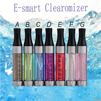 Wholesale E Cigarette Smart Tank - E-smart Atomizer tank 808&510 Threading e cigarette 808D e-smart e cig 808D and 510 clearomizer fit for CE4 ego 510 EVOD battery 0203020