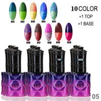 Wholesale Mood Gel Nail Polish - Wholesale-Choose 10 Pcs In New 250 Colors Y&S Mood color changing Gel Nail Polish 15ml 0.5oz Uv Nail Gel Free Ship